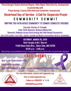 Community Summit @ Reid Temple AME Church
